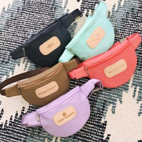Jon Hart Personalized Bellaire Fanny Pack  Apparel & Accessories > Handbags > Satchels