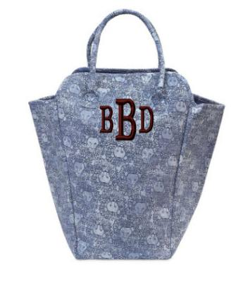 Monogrammed EVA Laundry Tote Beautiful Blue Lions   Home & Garden > Household Supplies > Laundry Supplies > Laundry Baskets