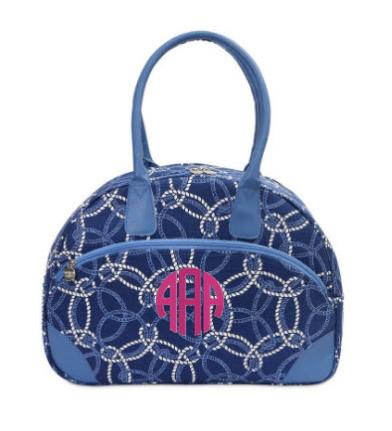 Monogrammed Knot-ical EVA Day Traveler   Luggage & Bags > Luggage Accessories