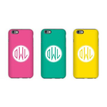 Personalized iPhone Case Solid Colors  Electronics > Communications > Telephony > Mobile Phone Accessories > Mobile Phone Cases