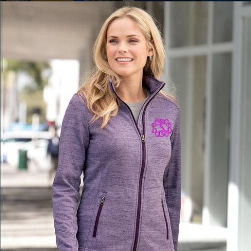 Port Authority Digi Stripe Fleece Jacket  Apparel & Accessories > Clothing > Activewear > Active Jackets
