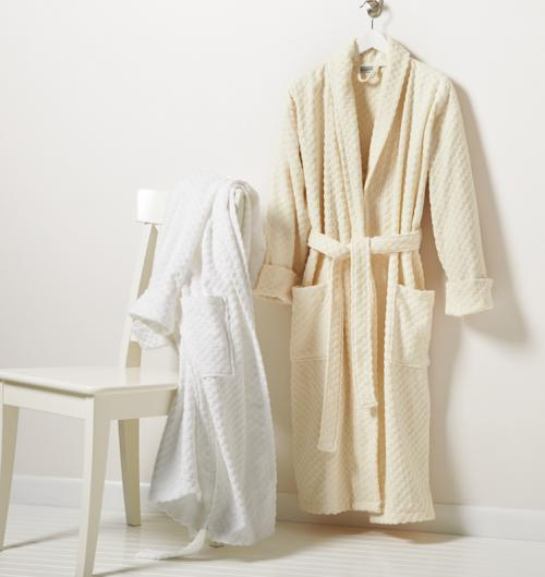 Monogrammed Long Terry Robe for Him or Her  Apparel & Accessories > Clothing > Sleepwear & Loungewear > Robes
