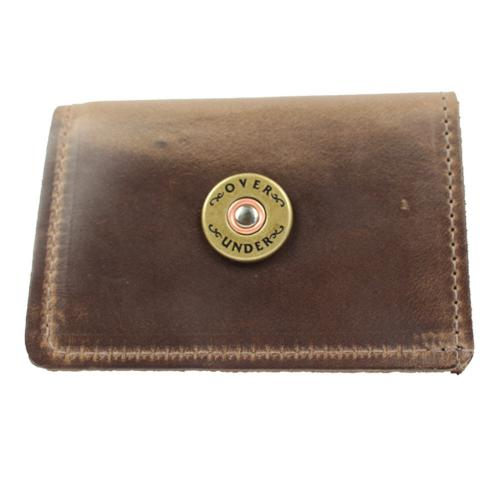 Personalized Horween Leather Sportsmans Trifold Wallet  Apparel & Accessories > Clothing Accessories > Wallets & Money Clips
