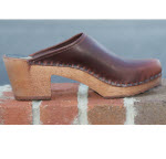 High Heel Brown Wood