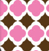 169 Pink An Chocolate Tile