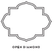 12 Open Diamond