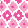 31 Ikat Pink Color Pattern Stays