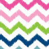 41 Multi Ikat Chevron(pattern Stays The Same)