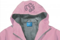 Check Box To Add A Monogram To Hood