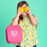 Personalized Hot Pink Lunch Box
