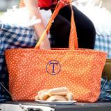 Personalized Orange Scattered Dot Ultimate  . . .