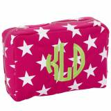 Monogrammed Stargazing Canvas Utility Pouch