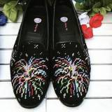 By Paige Ladies Fireworks Needlepoint Loafers