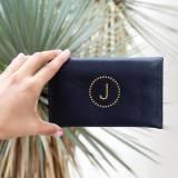 Boulevard Emma Leather Mini Wallet