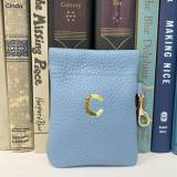 Boulevard Patty Leather Pouch Monogrammed