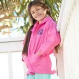 Personalized Childs Hot Pink Rain Jacket  . . .