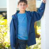 Personalized Childs Navy Blue Rain Jacket  . . .