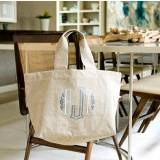Monogrammed Clinton Classic Market Tote