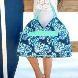 Personalized Maliblue Beach Bag