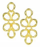 Lisi Lerch Gold Bamboo Ginger Earrings