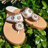 Palm Beach Sandals Classic White And Rose  . . .