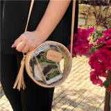 Jon Hart Designs Clear Luna Crossbody