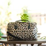 Monogrammed Leopard Wild Side Travel Bag