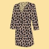 Monogrammed Leopard Wild Side Womens Tunic  . . .