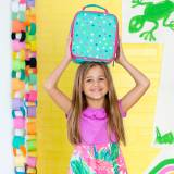 Monogrammed Lottie Dot Print Lunch Box