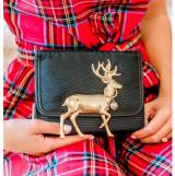 Lisi Lerch Eleanor Reindeer Adornment Clutch