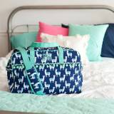 Personalized Lulu Llama Travel Bag