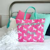 Personalized Unicorn Wishes Tote