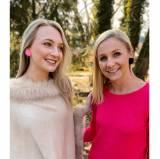 Lisi Lerch Pink Mink Faux Stud Earrings