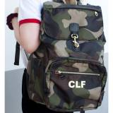 Boulevard Jo Camo Laptop Backpack Monogrammed
