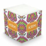 Personalized Cora Summer Memo Cube