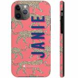 Personalized Leopard Coral IPhone Case