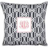 Boatman Geller Monogrammed Arden Pillow