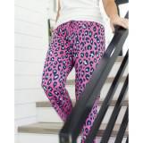 Hot Pink Leopard Lounge Pants