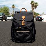 Boulevard Jo Black Laptop Backpack  . . .