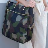 Boulevard Parker Camo Nylon Tote Monogrammed