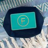 Boulevard Origami Utility Pouch Monogrammed