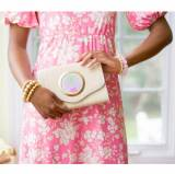Lisi Lerch Sadie Clutch Giddy Paperie Gold  . . .