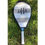 Queen Bea Monogrammed Tennis Cover