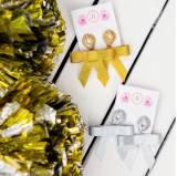 Lisi Lerch Fabric Bow Earrings