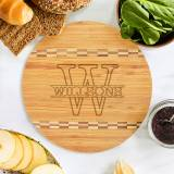 Personalized Name Round Bamboo Cutting Board