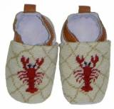 By Paige Needlepoint Red Lobster Baby  . . .