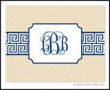 Boatman Geller Greek Key Monogrammed Notes
