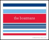 Boatman Geller Nautical Personalized Notes