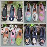 By Paige Monogrammed Needlepoint Shoes