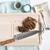 Personalized Maple Cutting Board With Longhorn  . . .